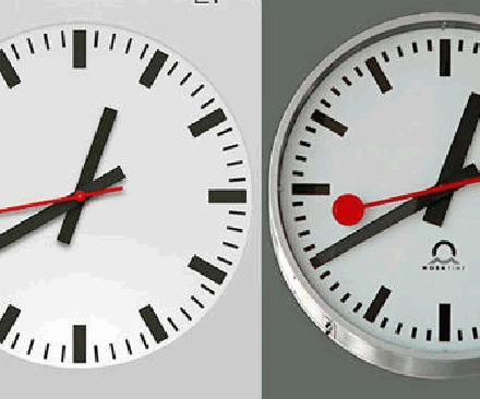 klok zonder datum