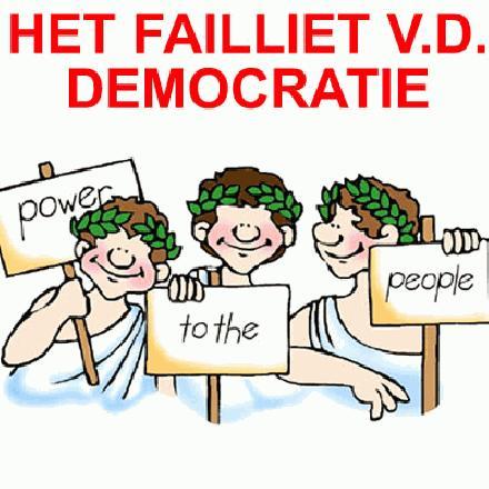 het failliet van de democratie