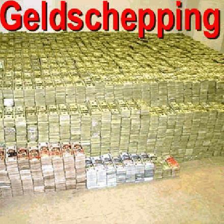 Geld sheppen
