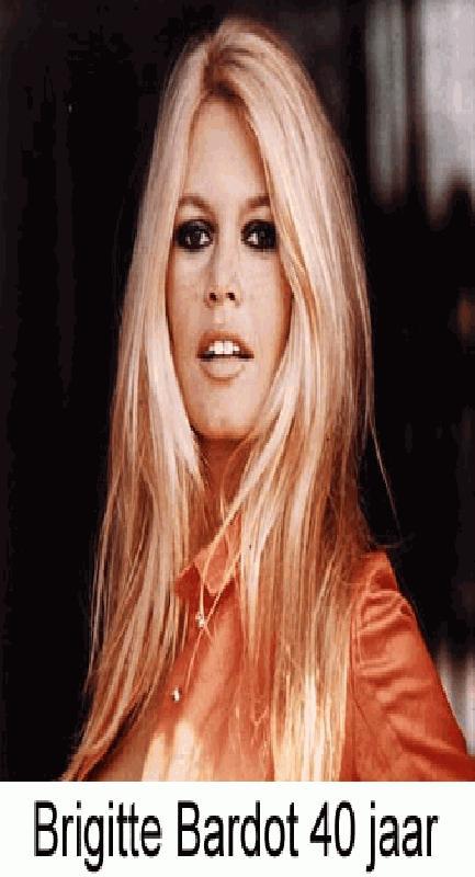 Brigitte Bardot 40 jaar