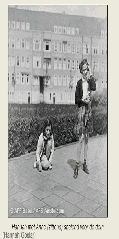 003 Anne Frank en Hannah Goslar 2