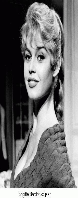 Brigitte Bardot 25 jaar