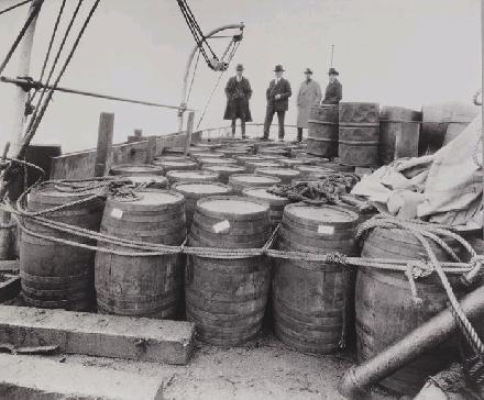 Rum Running By Sailing Ship