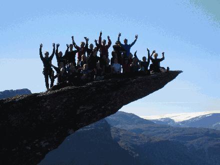 Trolltunga Noorwegen groepsreizen