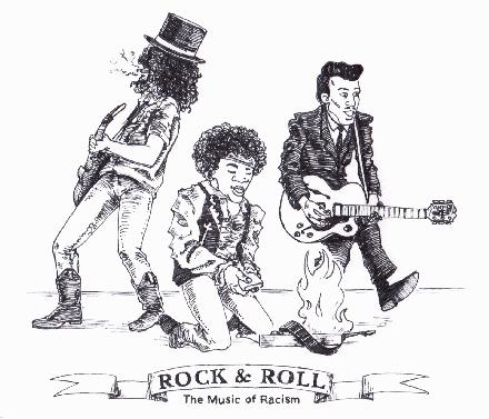 The appearance of Rock & Roll