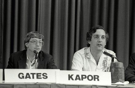 Mitchell Kapor, Bill Gates
