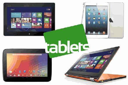 Verschillende soorten tablets