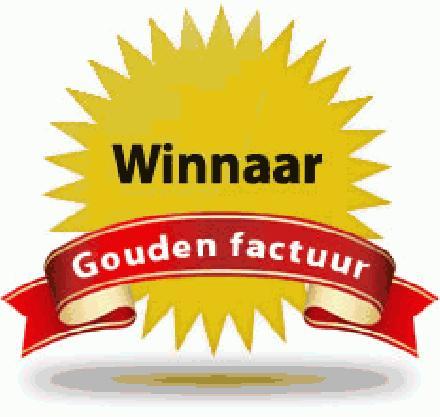 winnaar gouden factuur