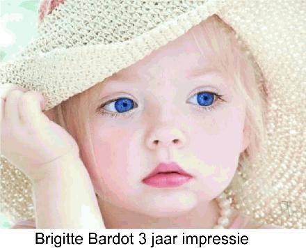 Brigitte Bardot 3 jaar look alike