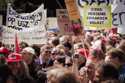 Protest actie