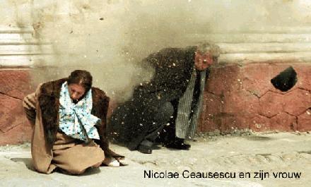 Nicolae Ceaușescu en zijn vrouw
