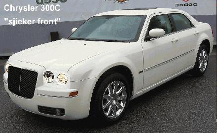 Chrysler 300C met sjieker front