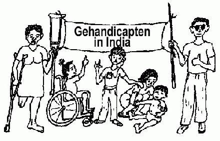Gehandicapten in India