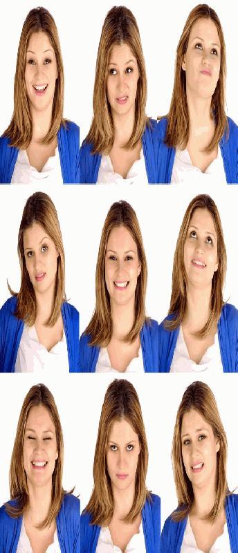 Non-verbale gezicht communicatie