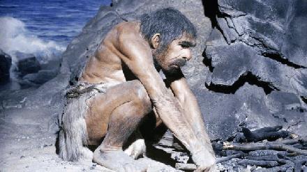 Neanderthals aan het werk