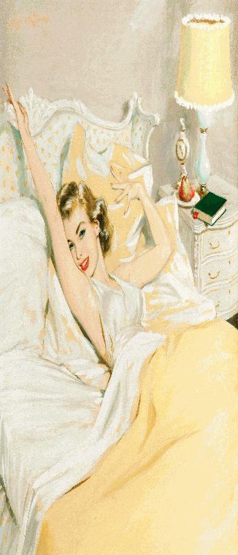 Coby Whitmore mooie vrouw in bed