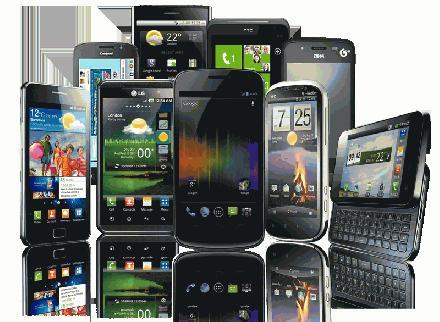 Mobiele telefoon collectie
