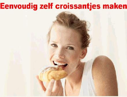Eenvoudig zelf croissantjes maken deel 2
