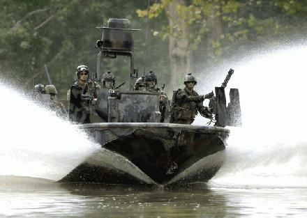 United Kingdom Navy Patrol River Boat