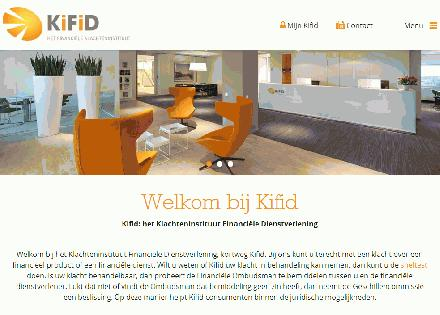 Kifid, onafhankelijke instantie voor geschilbeslechting voor particulieren