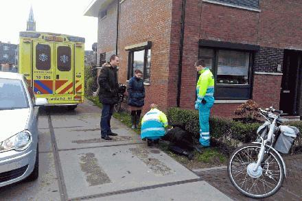 Ongeluk elektrische fiets