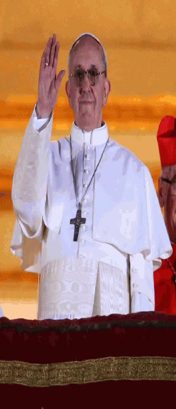 Paus Jorge Mario Bergoglio, paus Franciscus