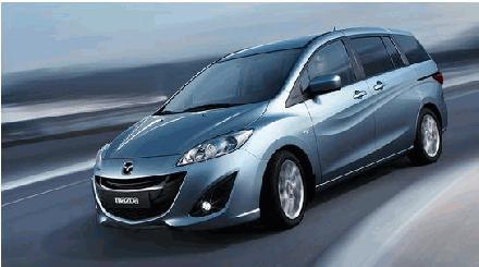 Mazda5 monovolume wagen