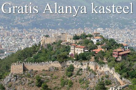 Gratis naar Alanya kasteel
