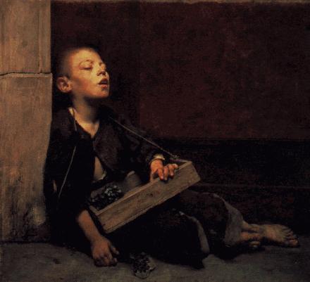 Child Beggar - Kind Bedelaar