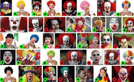 Clowns op google image