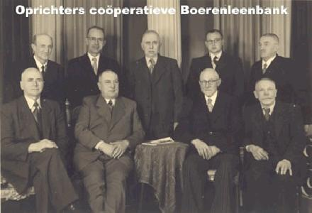 Oprichters Boerenleenbank