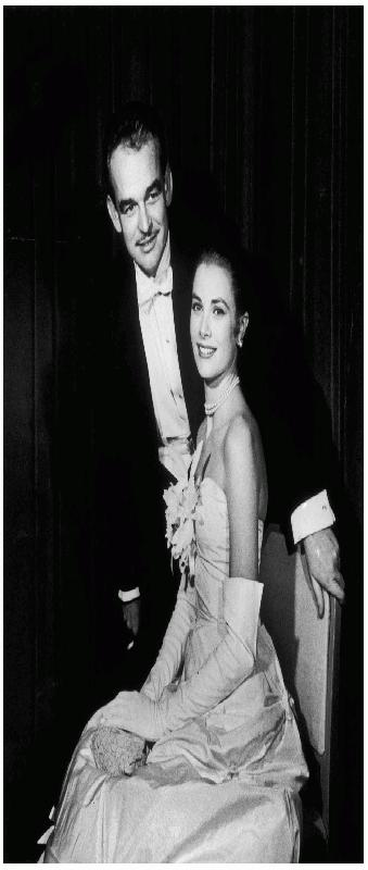 Prins Rainier en Prinses Grace Kelly
