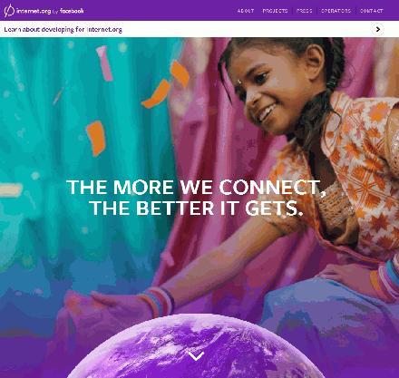 Internet.org startpagina