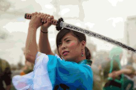 Samurai vrouw