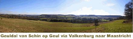 Wandel of fietstocht Valkenburg - maastricht