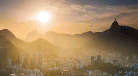 Zonneschijn in Rio de Janiero