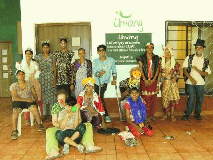 Bewoners van Umang