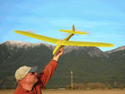 Zelfgebouwd vliegtuig