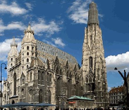 Augustine's Church in Vienna