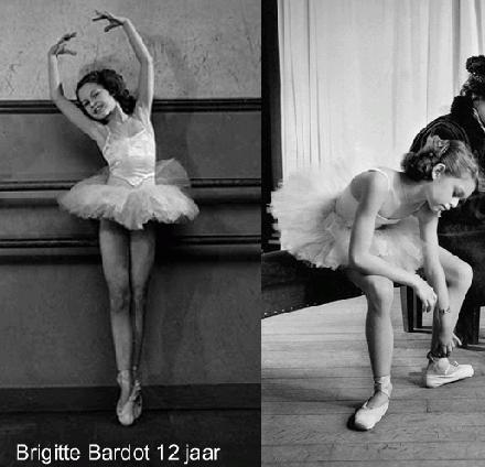 Brigitte Bardot 12 jaar 1946