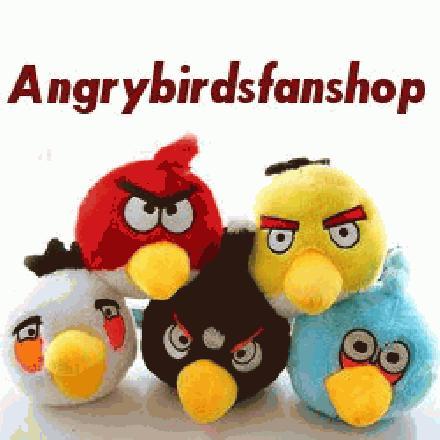 angrybird knuffels