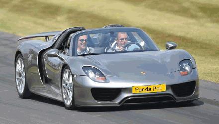 Panda Poli Porsche