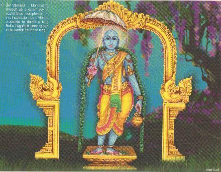 Vishnu Vamana