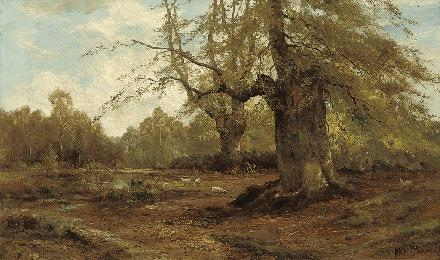 Alfred de Bréanski Snr Burnham Beeches Autumn