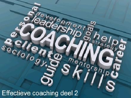 Effectieve coaching deel 2