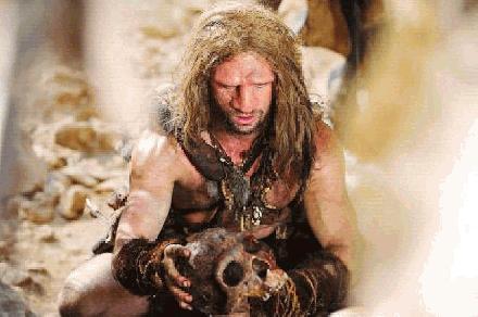 Neanderthaler aan het werk
