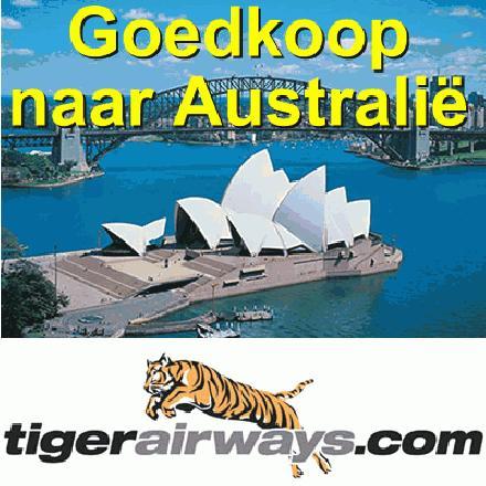 Goedkoop naar Australië, voordelig naar Australië