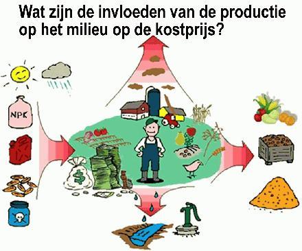 Wat zijn de invloeden van de productie op het milieu op de kostprijs