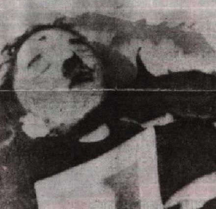 Adolf Hitler als lijk
