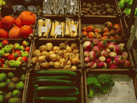 Vegetarische gerechten bedreigen de varkens